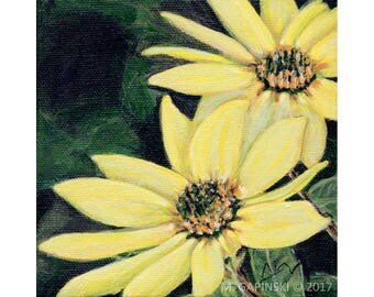 Yellow Daisies - Print