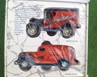 ERTL Special Edition Chevrolet Louis Issue Two diecast metal toy cars