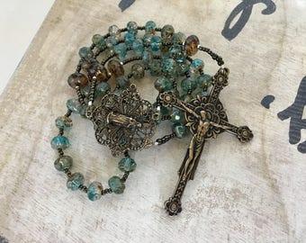 Holy Mother and Child, Handmade Catholic Rosary