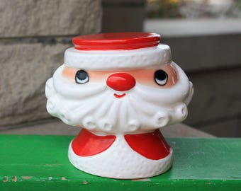 REDUCED HTF Vintage Holt Howard Christmas Santa Pencil Note Holder Japan 50s Figurines Collectibles Decorations