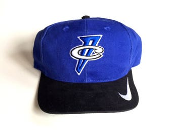 Vintage Orlando Magic Penny Hardaway 90s Nike Swoosh snapback hat adjustable one size fits all made in china 100% cotton
