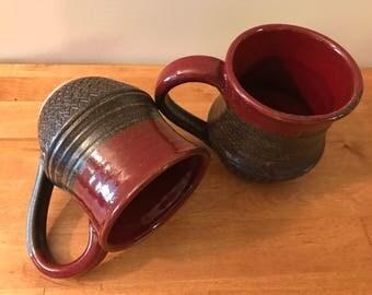 Red & Brown Mugs