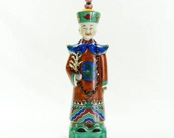 Old Famille Rose Porcelain Emperor Qianlong