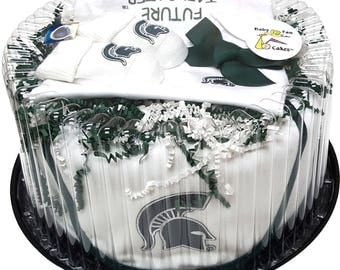 Michigan State Spartans Baby Clothing Gift Set