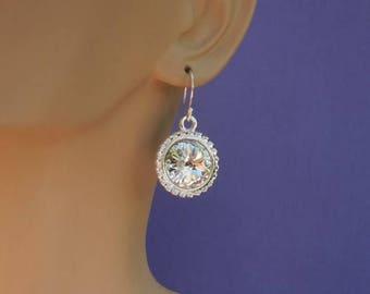 Swarovski Crystal Earring birthstones earring