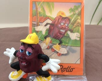 6 California Raisins with unopened cards