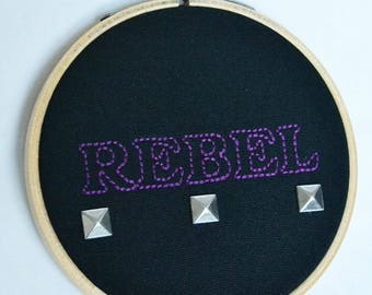 Anarchist Embroidery Decoration