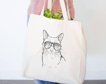 Maverick Cat Tote Bag