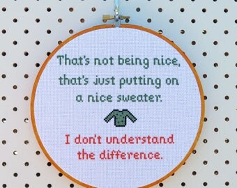 South Park Quote Cross Stitch Pattern