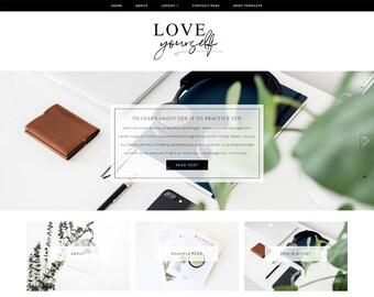 Wordpress Theme - Responsive Wordpress Template - Lifestyle Blog Template - Genesis Child Theme - Genesis Framework Theme // LOVE