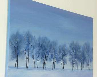 Painting Winter Mist