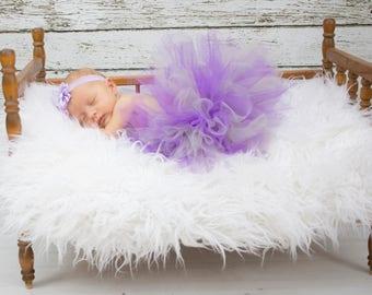 Purple tutus, baby tutu, baby girl tutu, newborn tutu, baby girl tutus, silver tutu, custom girl tutu, tutus for babies, tutus for girls