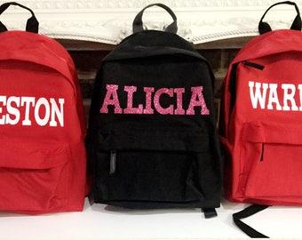Personalised Rucksacks