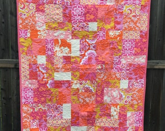 Sis Boom by Jennifer Paganelli Quilt 43x59""