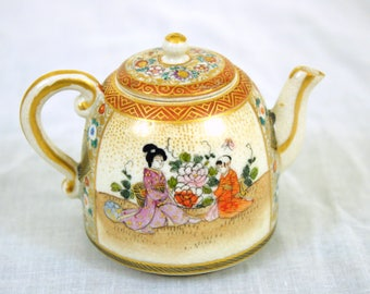 Sweet japanese mini tea pot