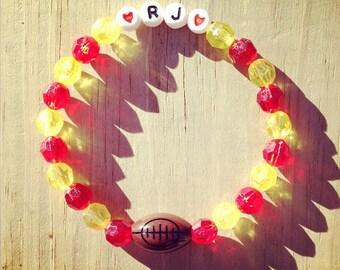 Football - Personalized Handmade Bracelet
