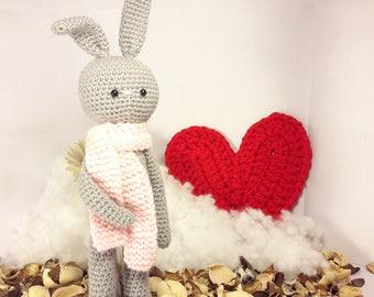 Crochet doll amigurumi Bunny