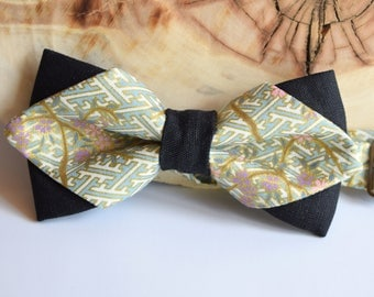 Bow Tie for Men. Diamond Point Bow Tie. Bow tie for Groom