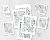 2018 Mutual Theme Download-Young Women-Peace in Christ-Instant Printables-LDS-Mormon-New Beginnings-Personal Progress