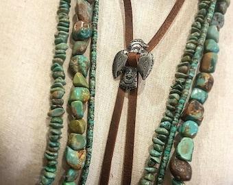 Vintage Thunderbird Bolo Tie