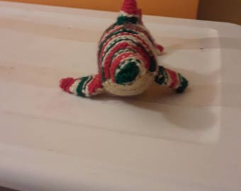 Small Christmas dolphin