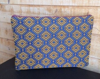 New Africa laptop sleeve / reinforced / lined hand made