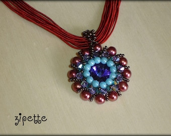 Collier pendentif abysse