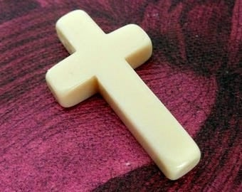 Vintage French Celluloid Cross