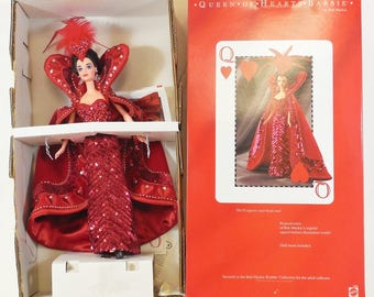 Mattel Queen of Hearts Barbie Doll by Bob Mackie, New,  1994