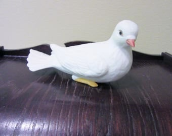 Sale Dove Turtle Bird Figurine Porcelain Ceramic Homco Number 8856 blm