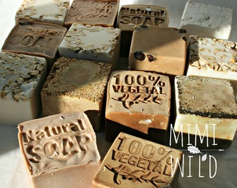 Cubo-Natural vegetable soap-vegan soap-artisanal soap-Tuscan olive oil