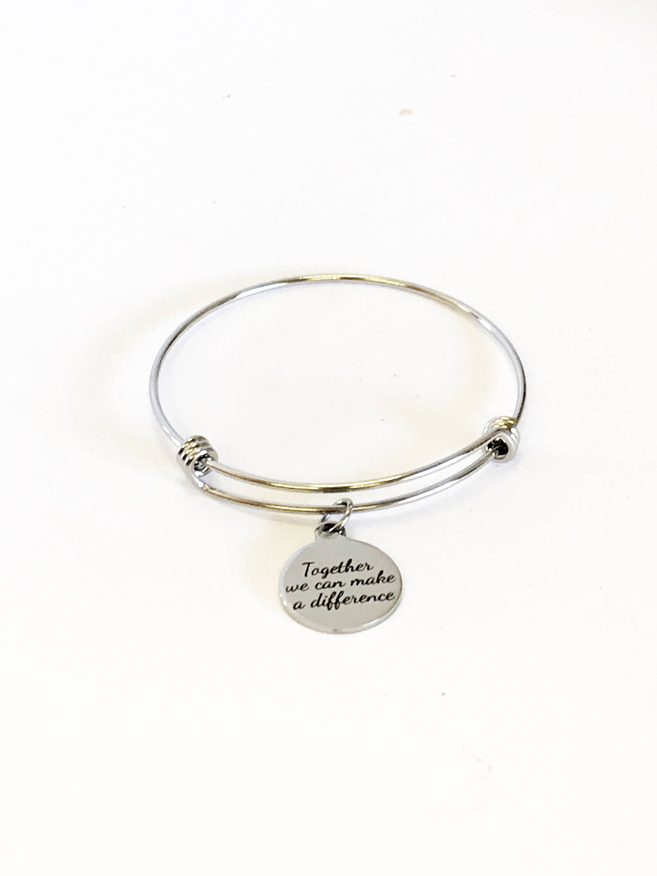 up bracelet adjustable never give pin charms cancer wire ribbon awareness silver black melanoma