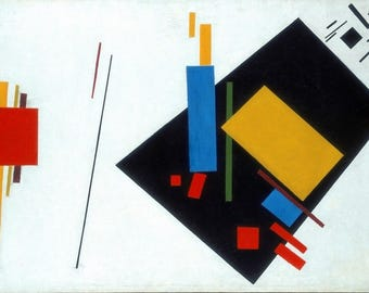 """Laminated placemat Malevich """"Suprematism"""""""