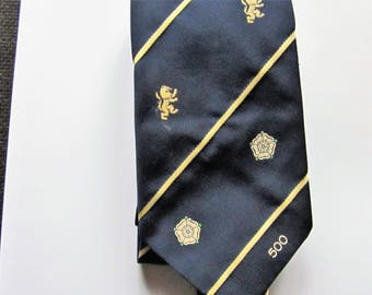 c1980 Leeds United Football Club Vintage Tie Ideal Christmas Gift Father's Day Birthday Present