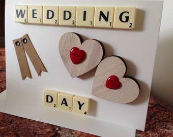 Wedding Day Card - Handmade - Special Day - Wedding