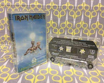 Seventh Son of a Seventh Son by Iron Maiden Cassette Tape rock heavy metal Vintage