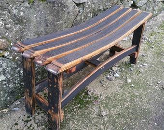 Whisky Barrel Bench