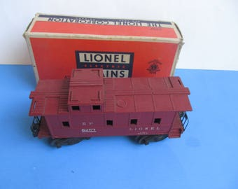 LIONEL   No. 6257  CABOOSE - Lionel Excessory -  with Box