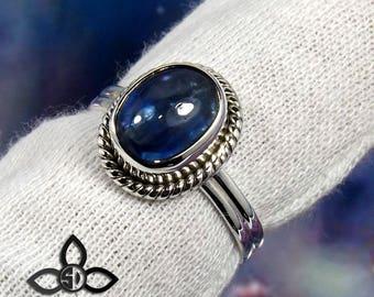 Kyanite Gemstone, Kyanite Ring, Kyanite Stone Ring, Designer Ring, Unique Ring, Birthday Gift, Engagement Ring, Gemstone Ring, 925 Silver