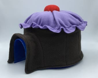Cupcake Igloo Cover, Pick Your Color, for Small Animals, Hedgehogs, Guinea Pigs, Chinchillas