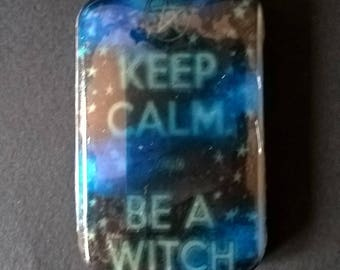"""Soap """" KEEP CALM and be a witch """"  Baby Doll fragrance"""