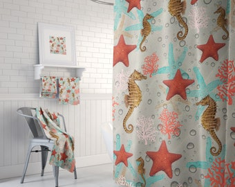 Theory of Evolution Shower Curtain Bathroom Decor Kids Bath