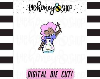 PRINTABLE DIE CUTS | All Skin Colors Included | Artsy Babe Die Cuts