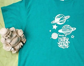 Made in Outer Space Screen Printed T-Shirt