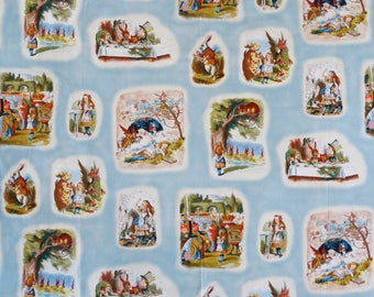 Alice in Wonderland Fabric, Forty Ravens