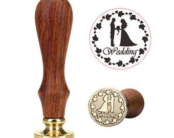 """Wedding """"Wedding"""" wax stamp seal"""