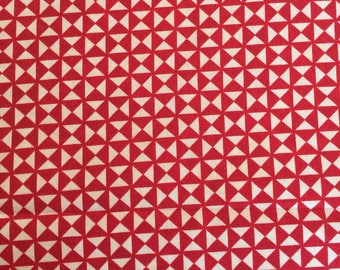 Berry Merry Scarlet Cream by Basic Grey for Moda Fabrics