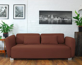 Slip cover to fit the ikea Mysinge 2 seat sofa BROWN