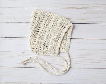Pixie Bonnet, Crochet Pixie Bonnet, Newborn Pixie Hat, Newborn Pixie Bonnet, Newborn Bonnet, Pink Pixie Bonnet, Crochet Bonnet, Knit Bonnet