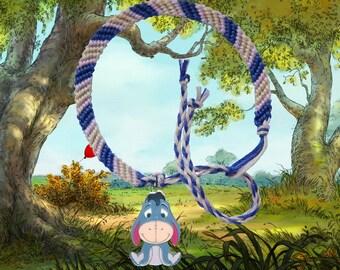 Disney Winnie the Pooh friendship bracelet with Eeyore charm Free UK Postage!
